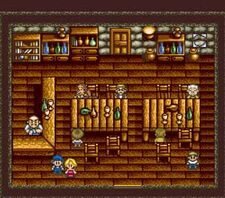 Bar with Eve SNES