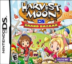 Harvest Moon DS Grand Bazaar box