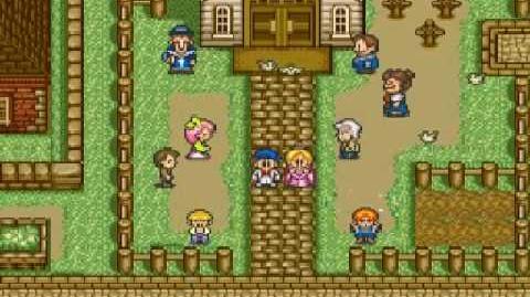 Harvest Moon Snes - Eve's Wedding