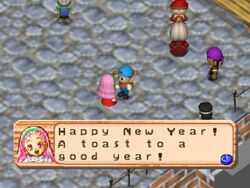 Popuri New Years Day HM64
