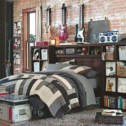 Musician-boy-bedroom