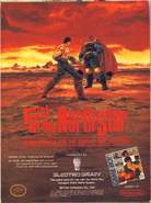 Fist of the North Star Gameboy ad