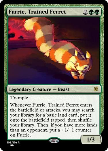 Furrie Trained Ferret