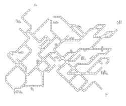 Stag Station Map