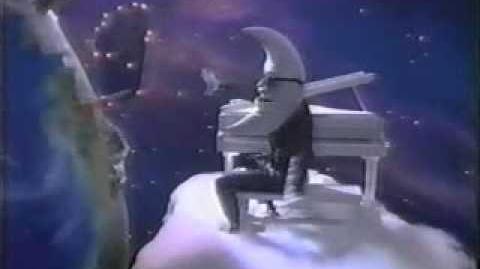 VINTAGE 80'S MCDONALD'S ORIGINAL MAC TONIGHT COMMERCIAL MOON MAN