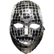 Deuce mirrorball mask