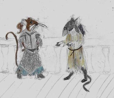 (old) Sayna and Urran (bloodwake)