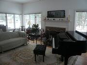 Piano's new home