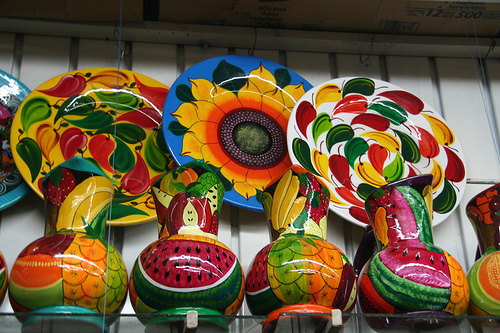 File:Colorful pottery.jpg