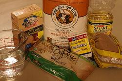Whole wheat walnut bread ingredients