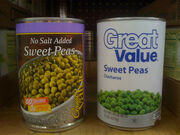 Great Value Peas