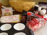 Red Velvet Cupcake Prep 021409