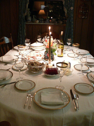 File:The Thanksgiving Table.jpg