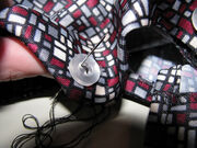 Day 2- Sewing a button.