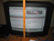 My TV's screen...