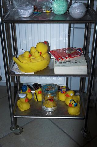 File:Rubber Duckies in my bath.jpg