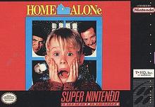 Home Alone Snes cover