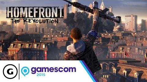 "Homefront The Revolution ""Thank You"" Trailer - Gamescom 2015"