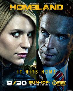 Season 2 poster homeland