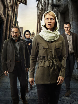 Homeland Season 4 cast