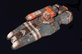Pulsar Gunship