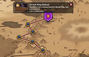 All Hail King Ballow! - map