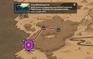 The Middengrove - map