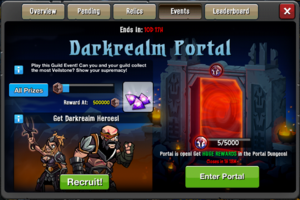 Event Darkrealm Portal Window