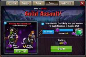 Event Guild Assault 3 window