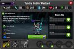 Tundra Goblin Warlord EL3 captured
