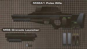 M32A1 Pulse Rifle