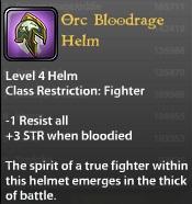 Orc Bloodrage Helm
