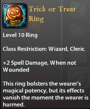 Trick or Treat Ring