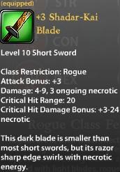 3 Shadar-Kai Blade