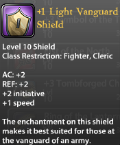 1 Light Vanguard Shield