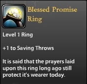 Blessed Promise Ring