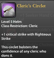 Cleric's Circlet