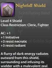 Nightfall Shield