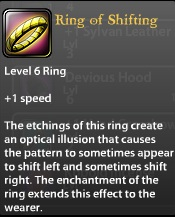 Ring of Shifting