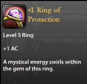 1 Ring of Protection