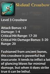 Skeletal Crossbow (updated)