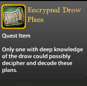 Encrypted Drow Plans