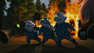 Three little hench pigs hoodwinked 2