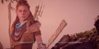 Scene: End Credits, Aloy Discovers Elisabet's Remains