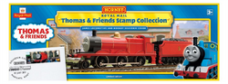 James the Red Engine - British Stamp Collection