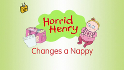 Horrid Henry Changes a Nappy
