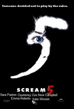 Scream 5 fanmade poster