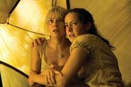 Laura and Jena in Ruins