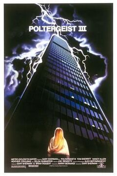 Poltergeist iii movie poster
