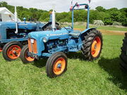 Ford Tractor with ROPS bar fitted